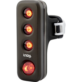 Knog Blinder Road R70 Fietsverlichting rode LED, pewter